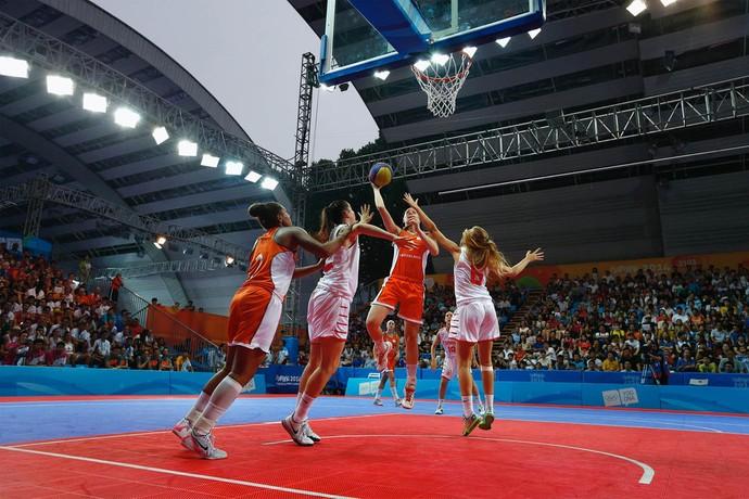 Basquete Inspira SC - 3x3 nas Olimpíadas em Tóquio (Foto: IOC - Ubald Rutar)
