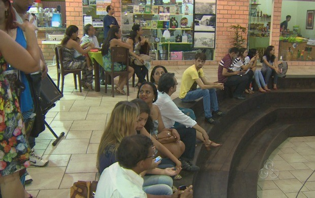 Evento cultural é aberto ao público (Foto: Rondônia TV)