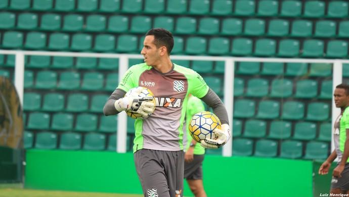 Gatito Fernández Figueirense (Foto: Luiz Henrique/Figueirense F.C.)
