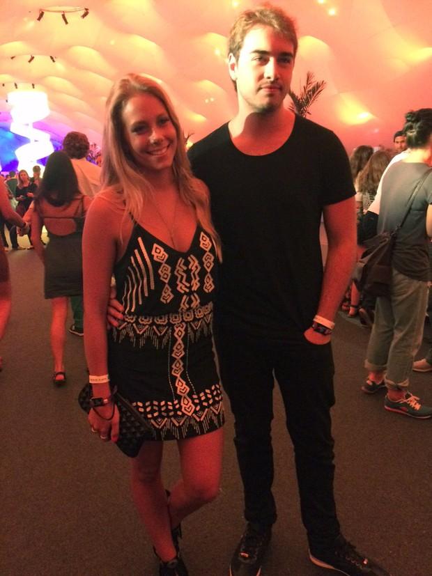Olin Batista com a namorada (Foto: EGO)