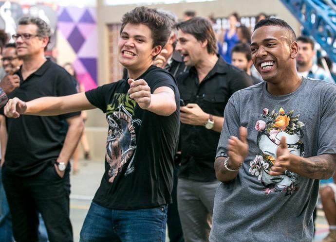 Nego do Borel diz que fez grandes amizades em 'Malhação' (Foto: Isabella Pinheiro/Gshow)