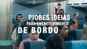 'Zorra' apresenta piores ideias para entretenimento de bordo