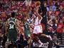 Com despertar de Lowry, Raptors batem Bucks e empatam a série