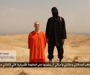 O vídeo da decapitação foi anunciado pelos militantes como um recado para o presidente Barack Obama. Outro jornalista é mantido prisioneiro (Foto: Reprodução)