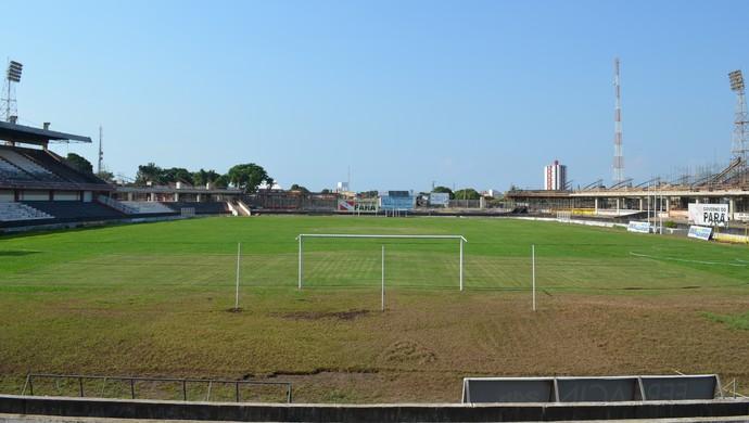 estádio Colosso do Tapajós (Foto: Weldon Luciano/GloboEsporte.com)