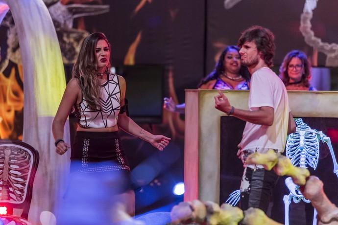 Pedro e Vivian Ossos (Foto: Artur Meninea/Gshow)