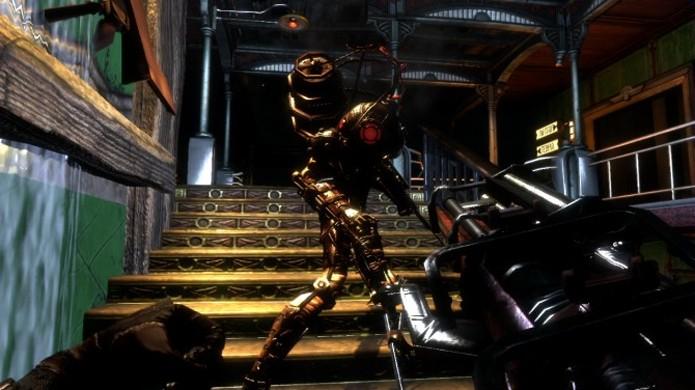 As Big Sisters de BioShock 2 são menos conhecidas que os Big Daddy porém igualmente mortais (Foto: Reprodução/Wired)