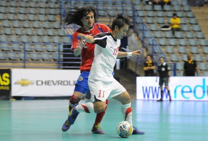 Diego Zuñiga Costa Rica futsal (Foto: Luciano Bergamaschi/Divulgação)