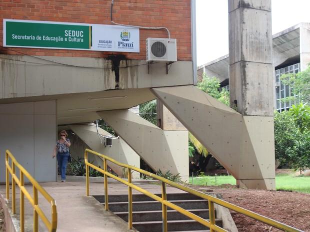 Secretaria de Educação do Piauí (Foto: Gustavo Almeida/G1)