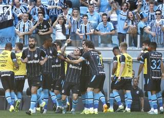 Everton Grêmio x Atlético-MG (Foto: Lucas Uebel/Divulgação Grêmio)