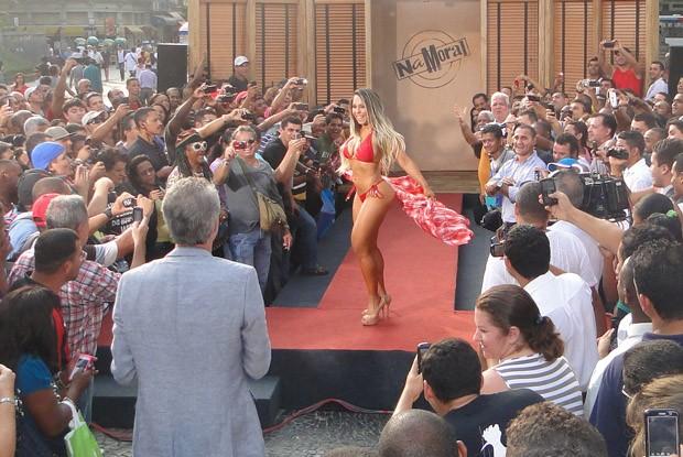 Mulher Melão (Foto: Na Moral/TV Globo)