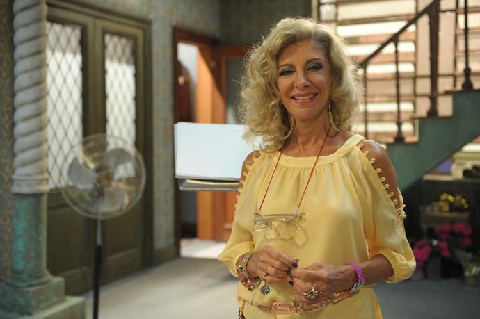 Marília Pêra vive a Darlene em Pé na Cova (Foto: João Cotta / TV Globo)