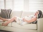 Grávida, Rebeka Francys diz que dá à luz em uma semana: 'Ansiedade a mil'