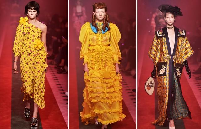Amarelo: Gucci (Foto: Reprodução, Getty e Antonio Barros)