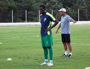 Atacante Felipe Tchelé, reforço do Mixto (Foto: Assessoria/Luverdense Esporte Clube)