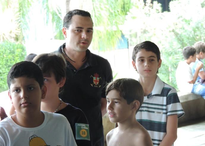 Campeonato de Futebol de Robôs Presidente Prudente (Foto: Ronaldo Nascimento / GloboEsporte.com)