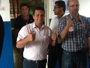 Candidato Keisson Drummond (Foto: Vander Andrade)