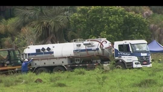 Reparo em oleoduto danificado por criminosos é concluído em Araporã