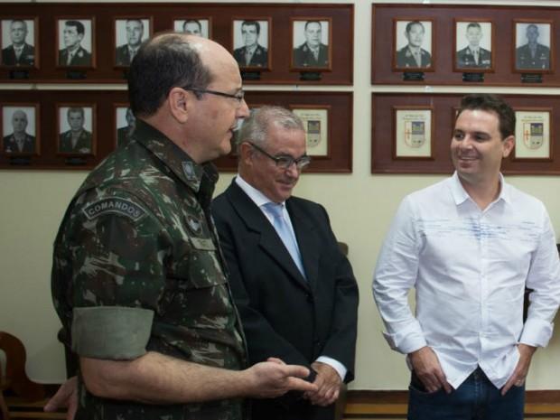 Solenidade teve presença do comandante da Brigada (Foto: 14ª Bda Inf Mtz/Divulgação)
