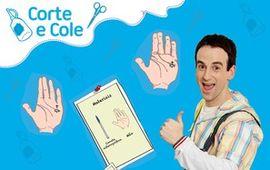 Corte e Cole: Desenho na Mão