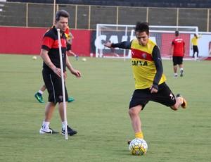 Vitória; treino; Toca do Leão; Barradão; Argel Fucks; Euller (Foto: Francisco Galvão/EC Vitória/Divulgação)