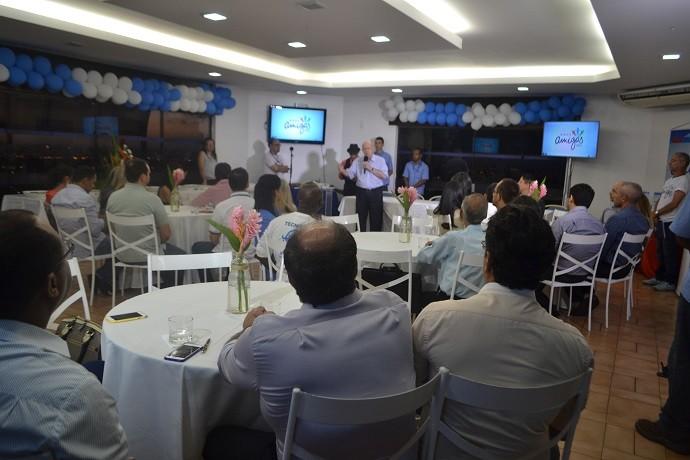 Diretoria da TV Sergipe e voluntários participaram do lançamento (Foto: Tv Sergipe)