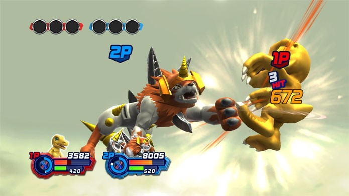 Digimon All-Star Rumble no PS3 (Foto: Divulgação)