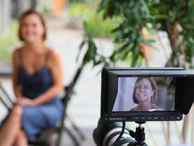 Não perca entrevista exclusiva deAdriana e outras atrizes para o Gshow nesta segunda, às 20h30 (Foto: Isabella Pinheiro/Gshow)