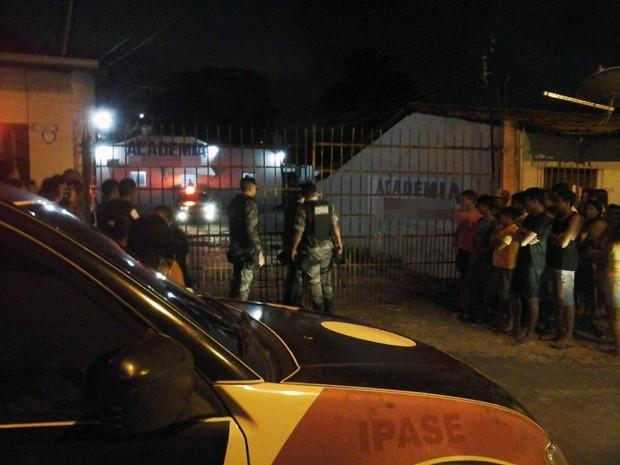 Homem reage a assalto em academia e mata suspeito em São Luís (Foto: Carlos Roberto / Divulgação)