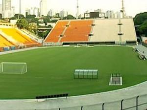 Estádio do Pacaembu (Foto: Reprodução TV Globo/ Arquivo G1)