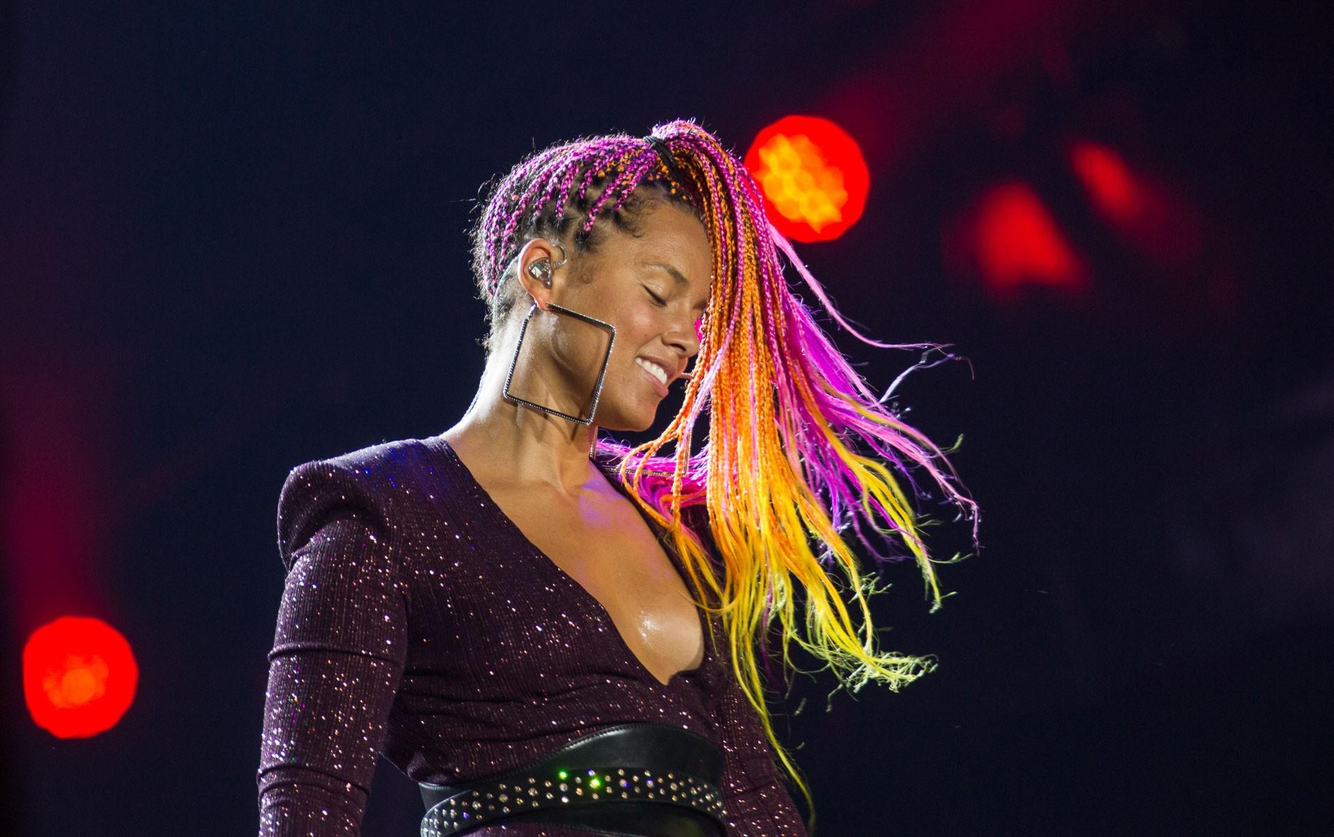 17-09 - MUNDO - Alicia Keys - Rock in Rio 2017 (Foto: Andr Bittencourt)