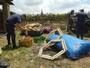 Guarda encontra 15 balões, 500 rojões e bomba em chácara de Valinhos, SP