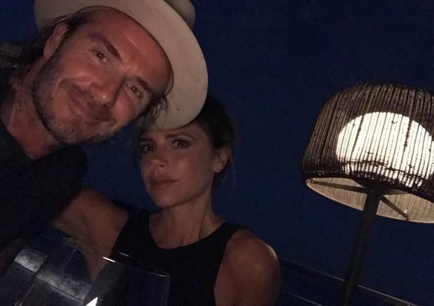 David e Victoria Beckham (Foto: Reprodução/Instagram)