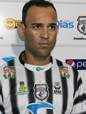 Chiquinho Baiano, lateral-direito do Treze, Paraíba, Campina Grande (Foto: Divulgação / Treze)