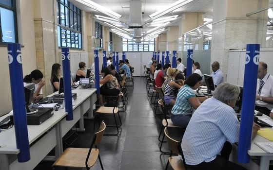 Atendimento no Procon de São Paulo (Foto: Reprodução/ Facebook)