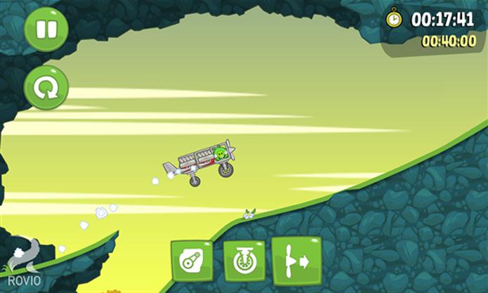 Bad Piggies é um game de sucesso no iOS e Android que chega agora ao Windows Phone (Foto: Divulgação/Windows Phone Store)
