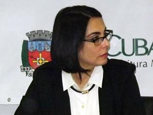 Marcia Rosa, prefeita de Cubatão, SP (Foto: Ivair Vieira Jr/G1)