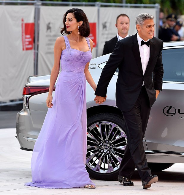 Amal Clooney e George Clooney (Foto: Getty Images)