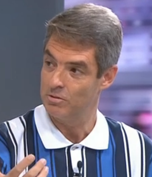 Tim Vickery, jornalista inglês; Redação SporTV (Foto: Reprodução/SporTV)