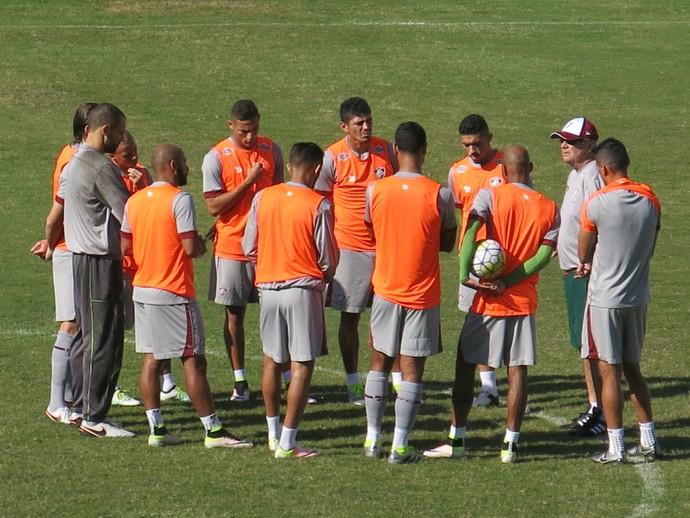 Treino Fluminense Laranjeiras (Foto: Edgard Maciel de Sá)