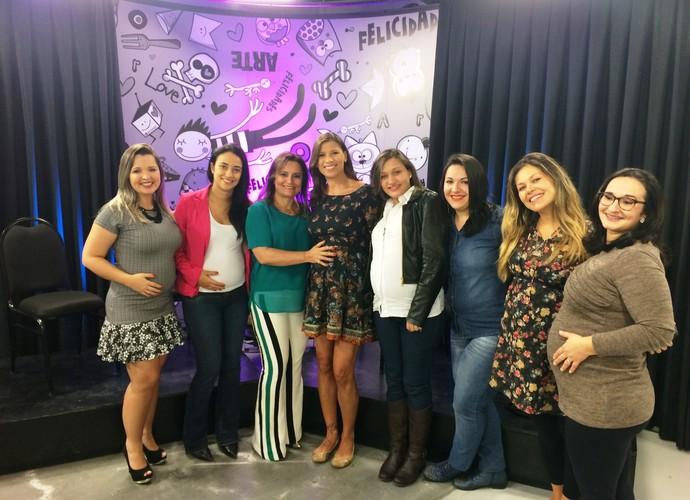 Mistura com Camille Reis vai tirar dúvidas sobre partos (Foto: RBS TV/Divulgação)