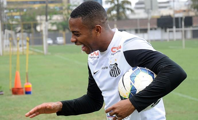Robinho atacante Santos (Foto: Ivan Storti / Santos FC)