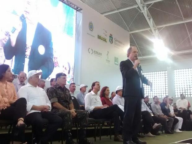 Ministro da Educação participa, em Fortaleza, da Mobilização Nacional da Educação - Zika Zero (Foto: Viviane Sobral/G1 CE)