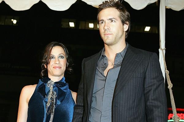 Alanis Morissette e Ryan Reynolds (Foto: Getty Images)
