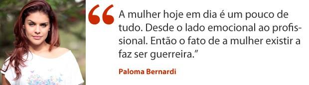 Paloma Bernardi (Foto: Salve Jorge/TV Globo)