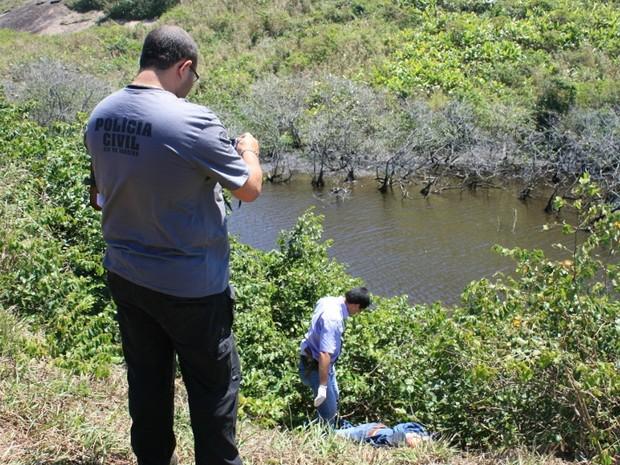Turista russo de 17 anos foi assassinado em Maricá, RJ (Foto: Romário Barros / Lei Seca Maricá)