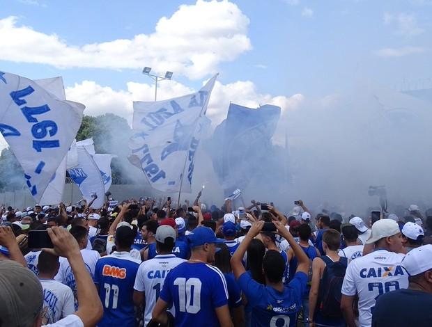 Torcida; Toca da Raposa; Cruzeiro