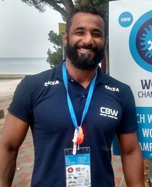 Jonatas Nobrega - atleta potiguar da luta olímpica (Foto: Divulgação)