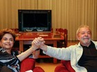 Lula se reúne com Dilma para discutir depoimento no impeachment
