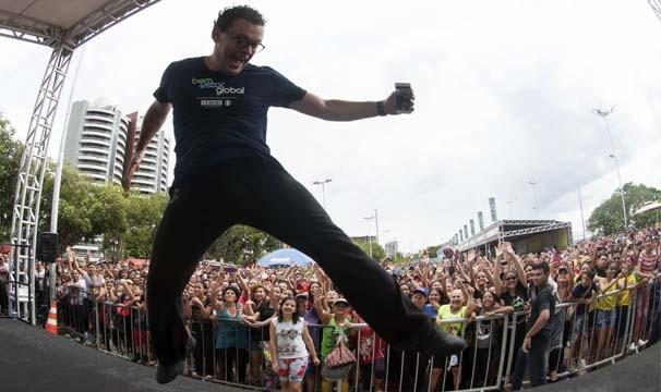 Fernando Rocha apresentou o Bem Estar ao vivo de Manaus (Foto: Divulgação)